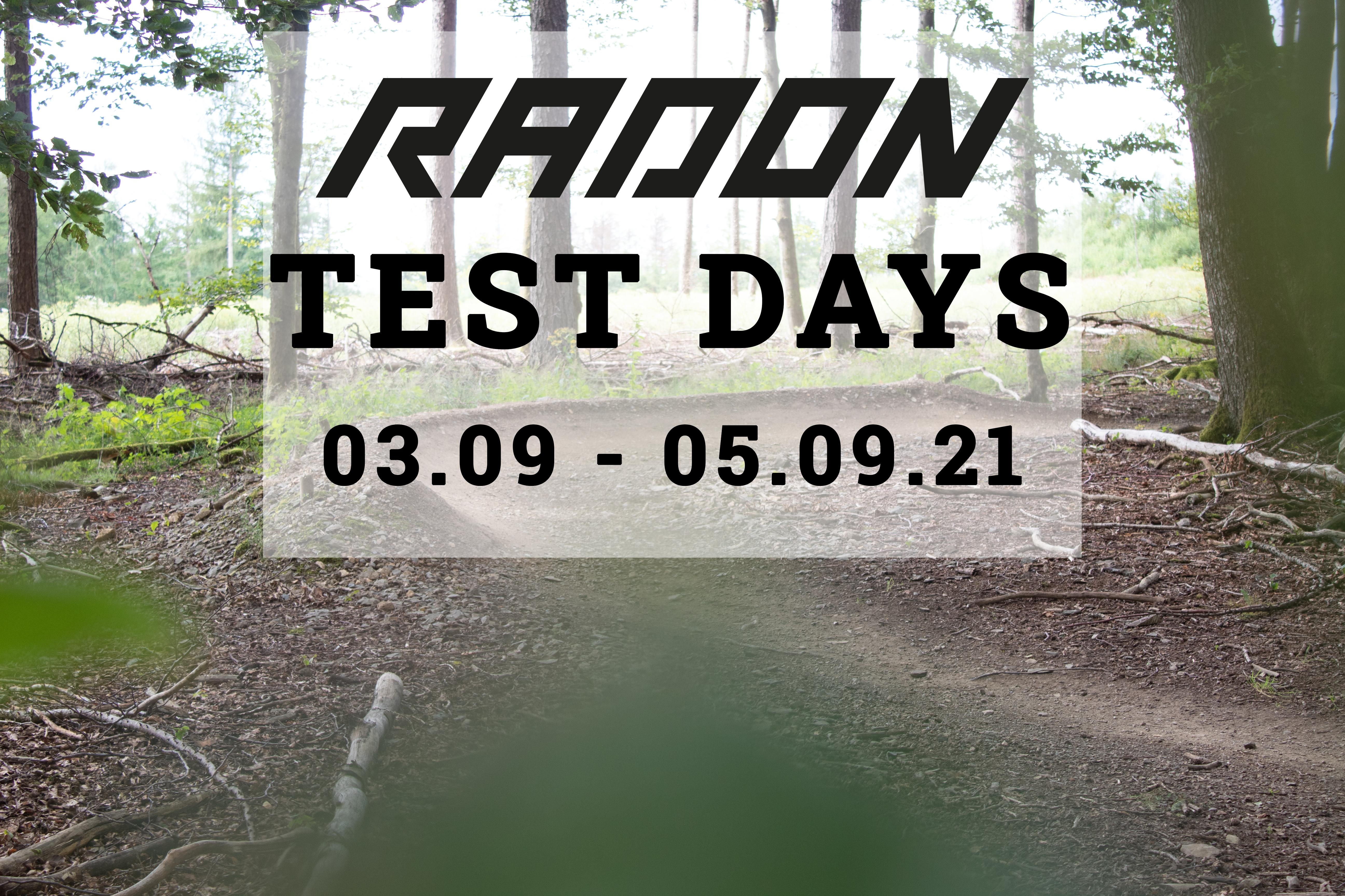 Radon Test Days